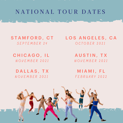 Tour Dates Updated